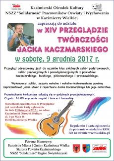 """Kazimierski """"XIV Przegląd Twórczości Jacka Kaczmarskiego"""""""