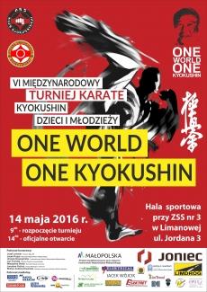 Międzynarodowy Turniej Karate Kyokushin Dzieci i Młodzieży ONE WORLD ONE KYOKUSHIN – Limanowa 2016