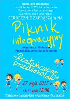 Piknik Integracyjny w PS w Grabownicy Starzeńskiej