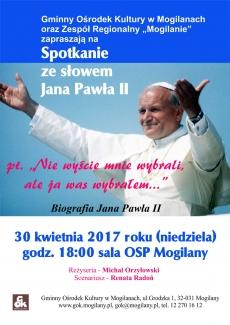 Spotkanie ze słowem Jana Pawła II