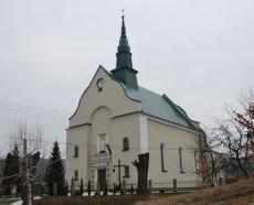 Kościół Parafialny w Przysietnicy z 1926 r.