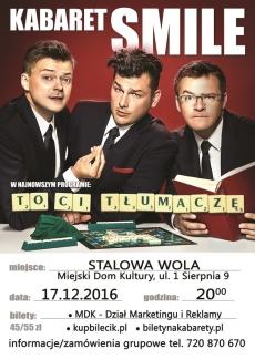 """Kabaret """"Smile"""" znów w Stalowej Woli"""