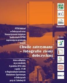 """Promocja książki """"Chwile zatrzymane"""" - fotografie ziemi dobczyckiej"""