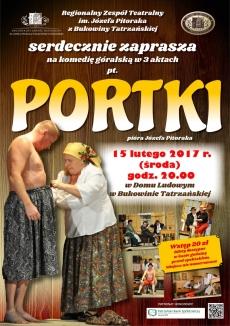 """""""Portki"""" Komedia góralska w 3 aktach"""