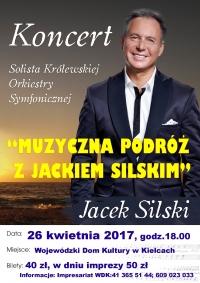 Koncert Jacka Silskiego w Kielcach