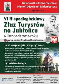 VI Niepodległościowy Złaz Turystów na Jabłońcu