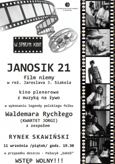 Janosik 21 - niemy film z muzyką na żywo