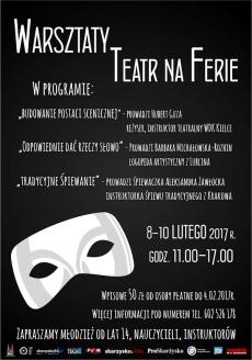 """Warsztaty """"Teatr na Ferie"""""""