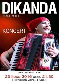 Koncert zespołu DIKANDA w Piwnicznej!
