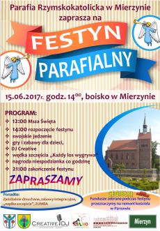 Festyn Parafialny w Mierzynie, gm. Karlino