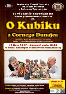 """Lalkowe przedstawienie """"O Kubiku z Cornego Dunajca"""""""