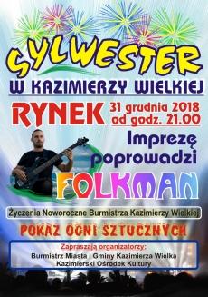 Kazimierza Wielka - Sylwester w Kazimierzy Wielkiej