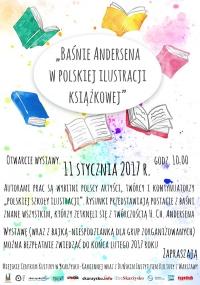"""Wystawa pt. """"Baśnie Andersena w polskiej ilustracji książkowej"""""""