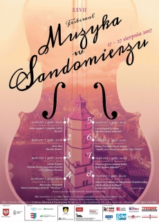 XXVII Festiwalu Muzyka w Sandomierzu