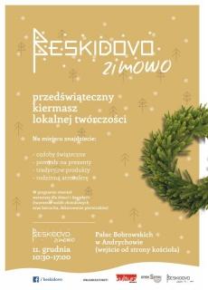 BESKIDOVO zimowo-przedświąteczny kiermasz lokalnej twórczości.