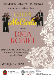 Koncert Grupy MoCarta z okazji Dnia Kobiet