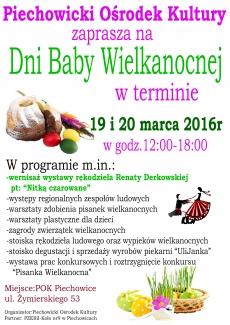 """""""Dni Baby Wielkanocnej"""" w Piechowicach"""