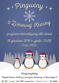 """""""Pingwiny z Zimowej Krainy"""" - program interaktywny dla dzieci"""