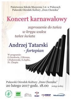 Koncert Karnawałowy Państwowej Szkoły Muzycznej I st. w Puławach
