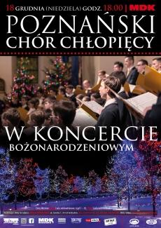 Poznański Chór Chłopięcy w Koncercie Bożonarodzeniowym