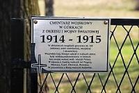 Cmentarz wojskowy w Górkach