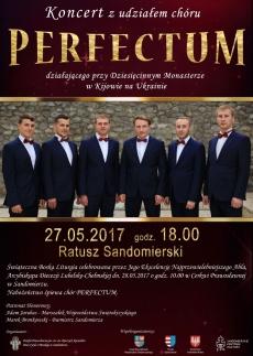Koncert chóru Perfectum