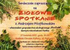 Ziołowe spotkanie z Andrzejem Wojtkowskim