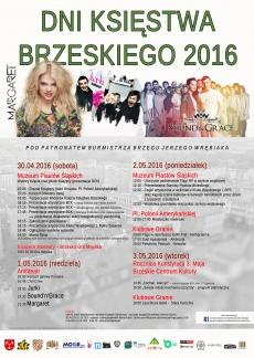 Plakat Dni Księstwa Brzeskiego