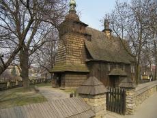 Drewniany kościół p.w. Matki Bożej Szkaplerznej