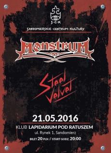 Koncert MonstruM i Steel Velvet