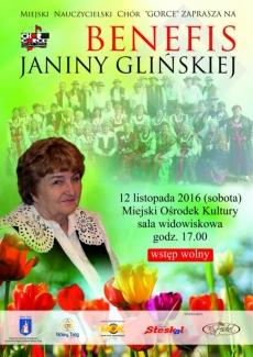 Benefis Janiny Glińskiej