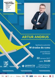 """Spotkanie autorskie z Arturem Andrusem """"W drodze do rymu"""" - Rzeszów"""