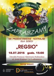 Przedstawienie teatralne REGSIO