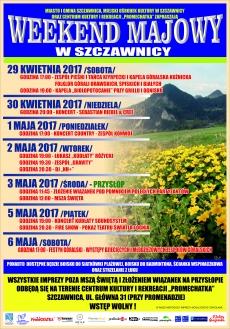 Weekend majowy w Szczawnicy