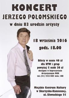 Koncert Jerzego Połomskiego