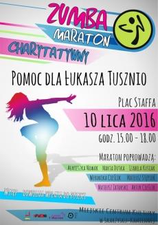 Charytatywny Maraton ZUMBA - pomagamy Łukaszowi Tusznio