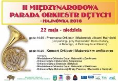 II Międzynarodowa Parada Orkiestr Dętych - Hajnówka 2016