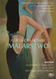 27 lutego w WDK odbędzie się wernisaż prac Aleksandry Nowak