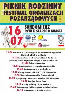 """""""Piknik Rodzinny 2016"""" i """"Festiwal Organizacji Pozarządowych"""""""