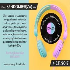 100% Sandomierza za 50% - 4-5.11.2017