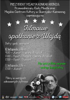 Filmowe spotkanie z Wajdą