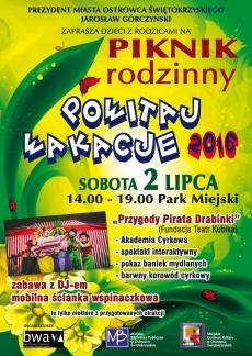 """Piknik Rodzinny """"Powitaj Wakacje 2016"""""""