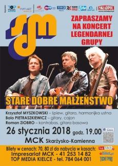 Koncert Starego Dobrego Małżeństwa w MCK Skarżysko