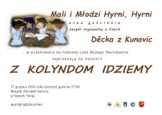 """""""Z kolyndom idziemy"""" Koncert 17 grudnia w MOK"""