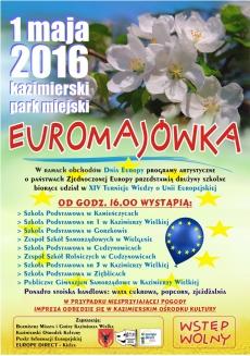 """""""EUROMAJÓWKA"""" w Kazimierzy Wielkiej"""