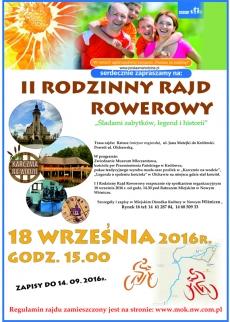 II Rodzinny Rajd Rowerowy