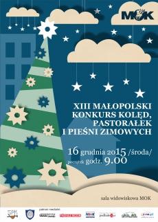 XIII Małopolski Konkurs Kolęd Pastorałek i Pieśni Zimowych