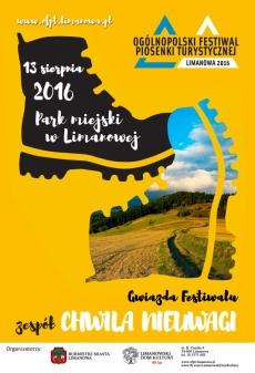 Ogólnopolski Festiwal Piosenki Turystycznej Limanowa 2016