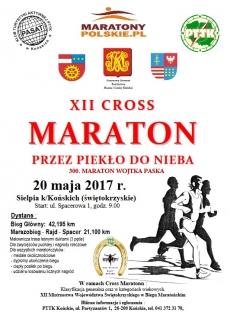 """XII Cross Maraton """"Przez Piekło do Nieba"""""""