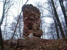 Ruiny kościoła z początków XV wieku